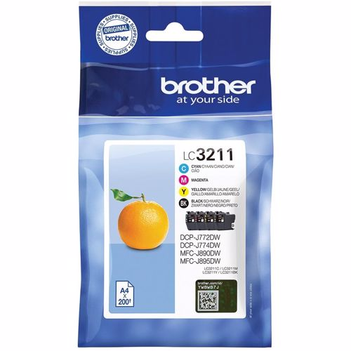 Brother cartridge LC3211 MULTI BCMY