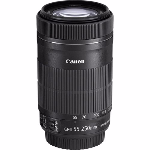 Canon objectief EF-S 55-250 F/4-5.6 IS STM