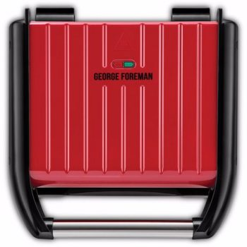 George Foreman contactgrill 25040-56 Family (Rood)