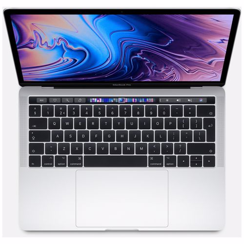 """Apple MacBook Pro 13"""" Touch Bar (2019) i5 256 GB (Zilver)"""