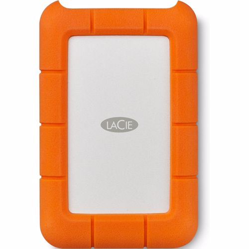 LaCie externe harde schijf Rugged USB-C 4TB
